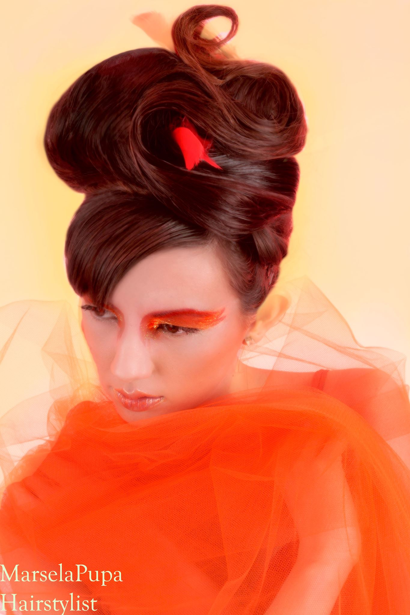 Fire Hairstyle - Marsela Pupa