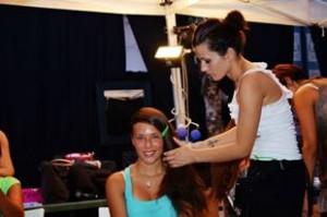 Miss Venice Beach - trucco e acconciatura by Marsela Pupa